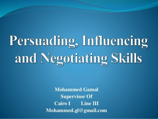 Mohammed Gamal  Supervisor Of  Cairo I Line III  Mohammed.gl@gmail.com