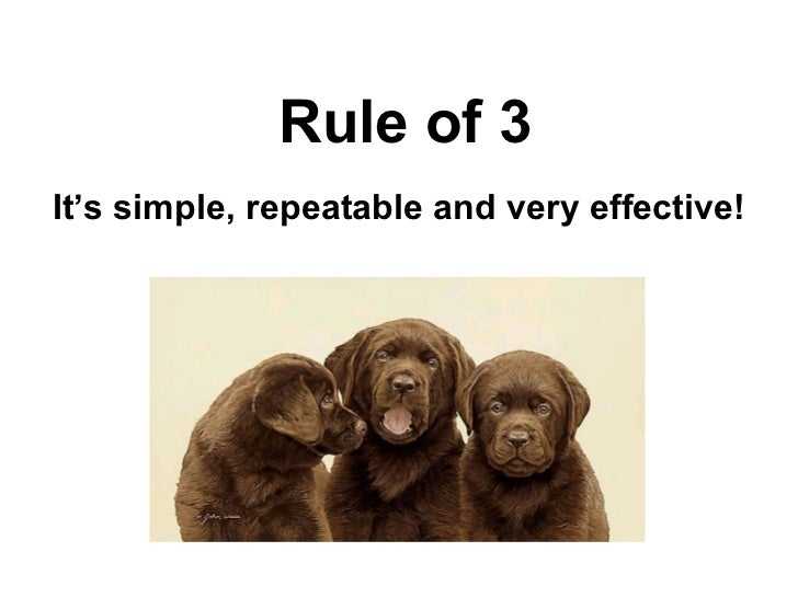 Persuasive writing rule of 3 its simple repeatable and very effective spiritdancerdesigns Images