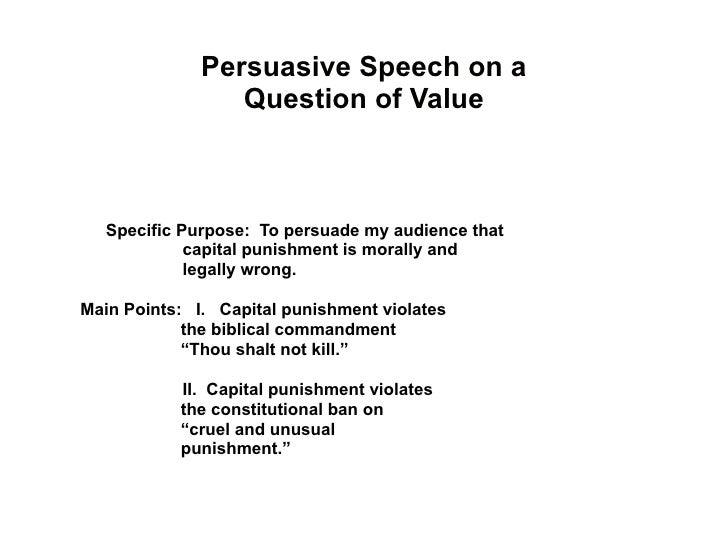 Types of the speech.