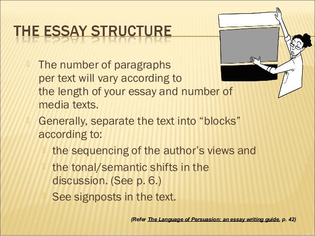 signpost essay Issue that the body of your essay will more fully develop (your thesis)  signpost  for the argument of the paper as a whole, but it also defines.