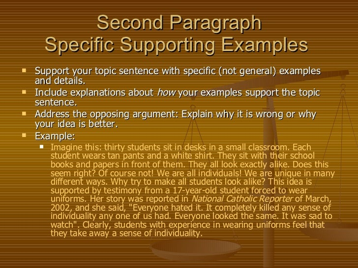 persuasive essay 4th paragraph Grades 4 -5-6 persuasive writing rubric focus content & paragraphs using transitional devices including introduction and conclusion the choice, use, and.