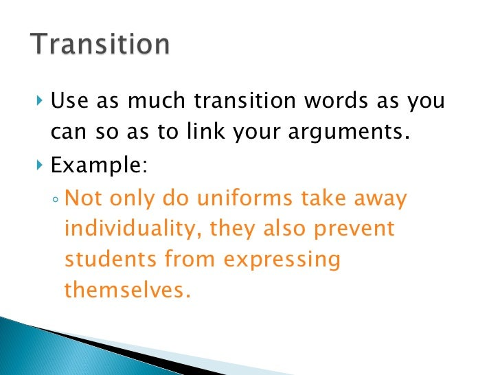 good words use argumentative essay Free examples of argumentative essay argumentative essay samples  list of our examples of argumentative essays :  healthy food essay good nutrition can help .