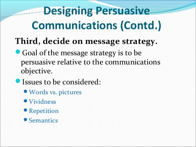 persuasive communication theory This comprehensive text provides a thorough and critical treatment of persuasion theory and research from a social science perspective  persuasive communication.