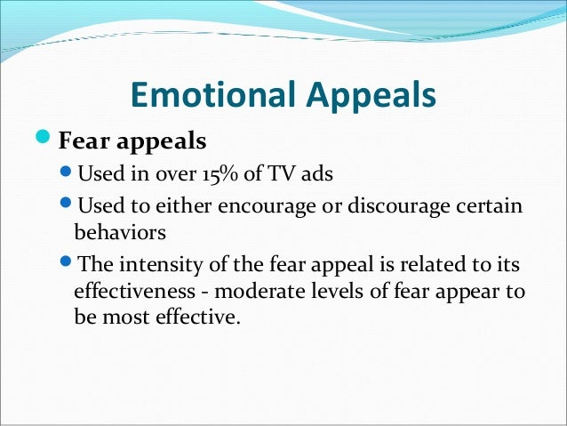 the dangers and benefits of using emotional appeals in communication In other words, a positive emotional appeal is likely to enhance the  the need for  more research on the effects of negative emotions in advertising appeals  role  of negative emotions in communication appeals and to examine the process  in  harmony with the attention focus hypothesis, empathy has been defined as a.