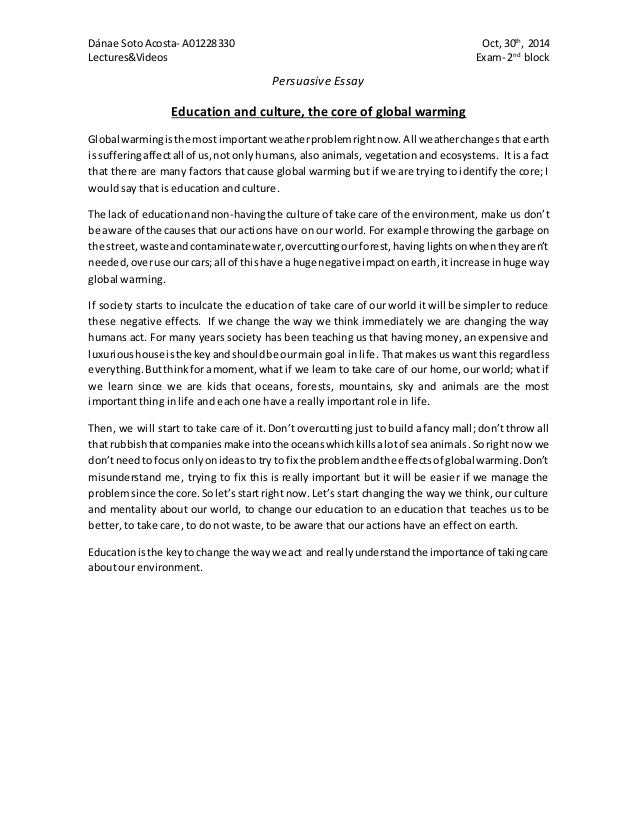 Essay about education