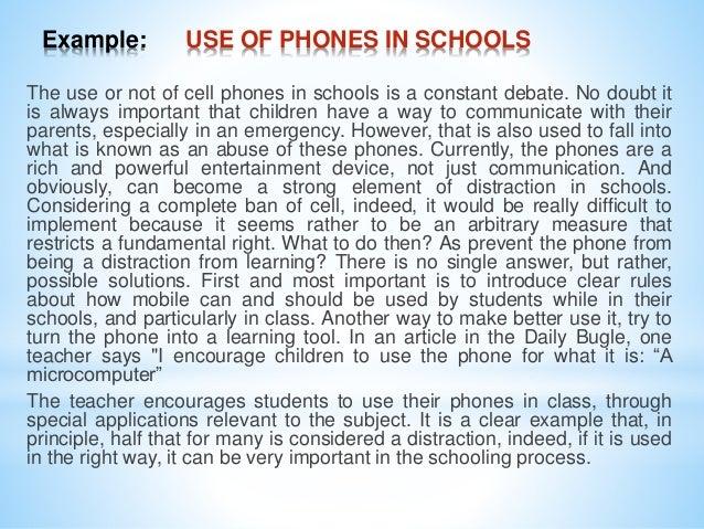 cell phone analysis essay