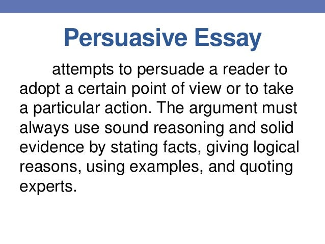 aspects about writing a persuasive essay Paperhelpme knows how to write a persuasive essay read our recommendations to get some of the basic expectations and concepts of a persuasive essay.