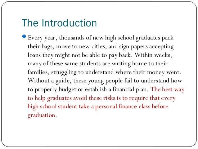 graduating high school essay