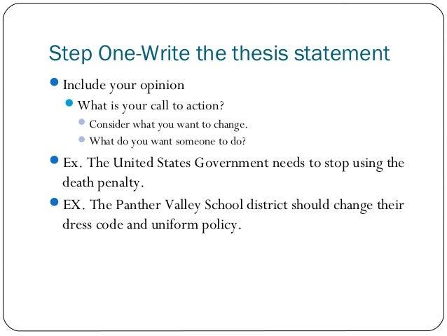 persuasive essay step by step