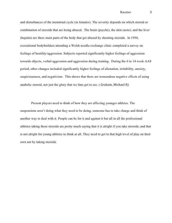 Should Steroids Be Legal Essay Template - image 5
