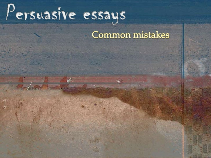 essay on mistakes Is your personal essay guilty of any of these errors here's what to do before submitting your next piece.