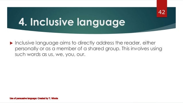 inclusive language Guidance inclusive language: words to use and avoid when writing about disability.
