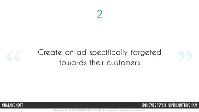 """3  """" Choose to only advertise via  TrueView on their channel  """"  #NATANDNOTT @THEWEBPSYCH @PHILNOTTINGHAM  All material © ..."""