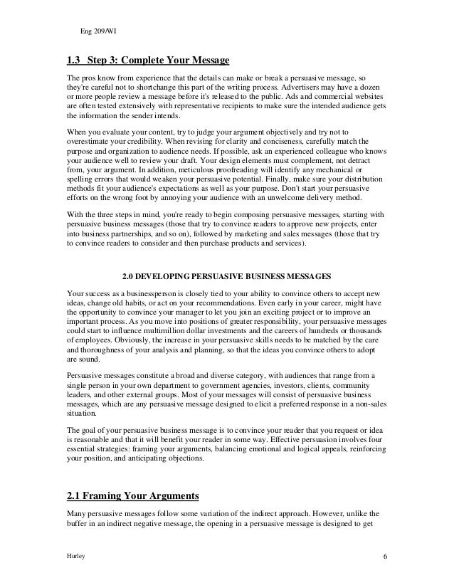 Persuasive message hurley2009 hurley 5 6 spiritdancerdesigns Choice Image