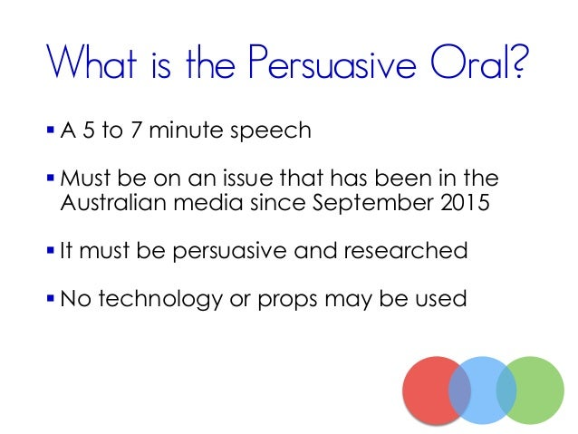 persuasive oral presentation speech should naplan 5 assessing writing in the national assessment program the naplan writing task the writing task for the 2013 writing assessment is a persuasive writing task.