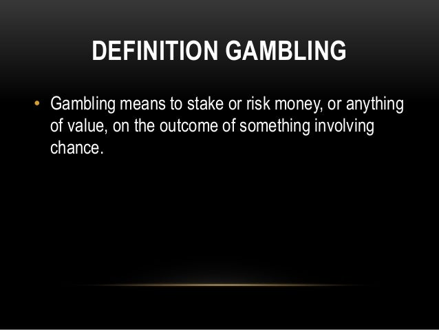 The dangers of gambling persuasive speech worldwide wynn llc casino