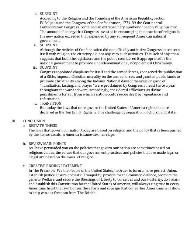 Persuasive essay on same sex marriage