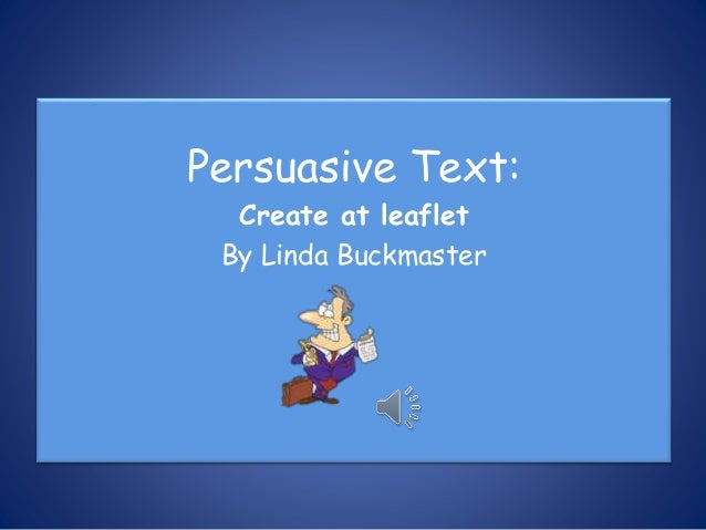 Cb Movie App >> Persuasive text leaflet movie