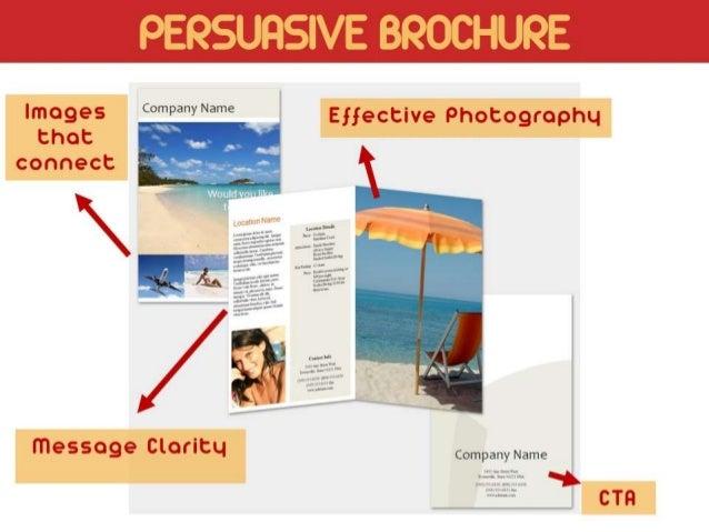 persuasive brochure