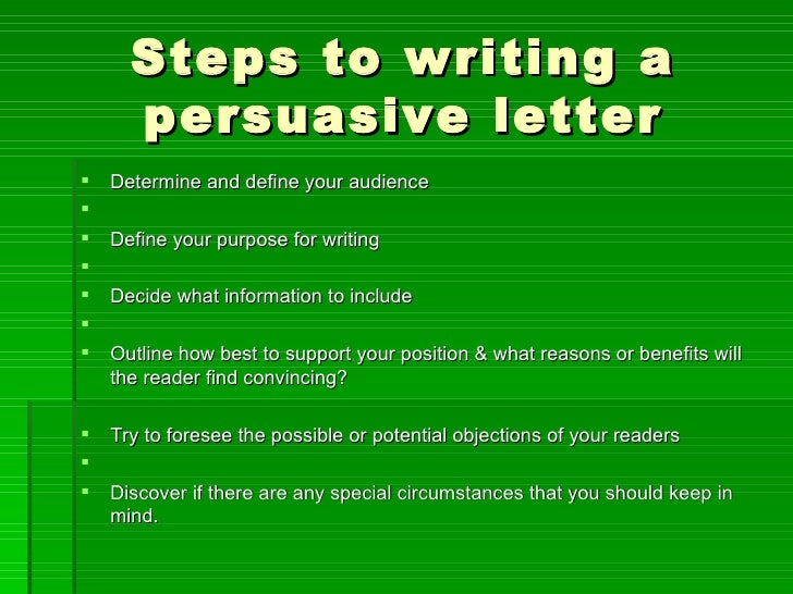 3 Step Process To Creating A Persuasive Message