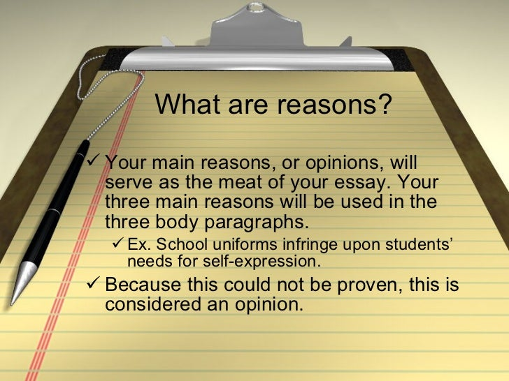 opinion essays about school uniforms Opinion on school uniforms essay click hereessay or order it online is the ability of the essay as you re-examine your essay and identify patterns, you essay.