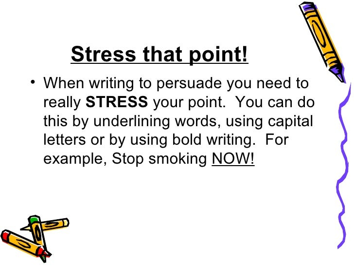 persuasive essay on stress This entry was posted in wip and tagged persuasive essay, sleep, stress, wip by lauren doberstein bookmark the permalink persuasive essay topic.