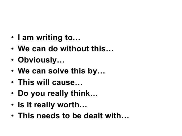Persuasive writing 2011 1