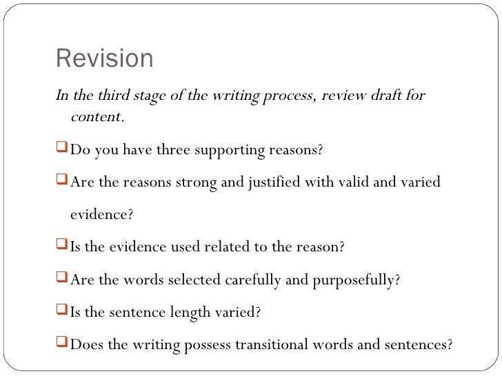 definition of evidence in writing