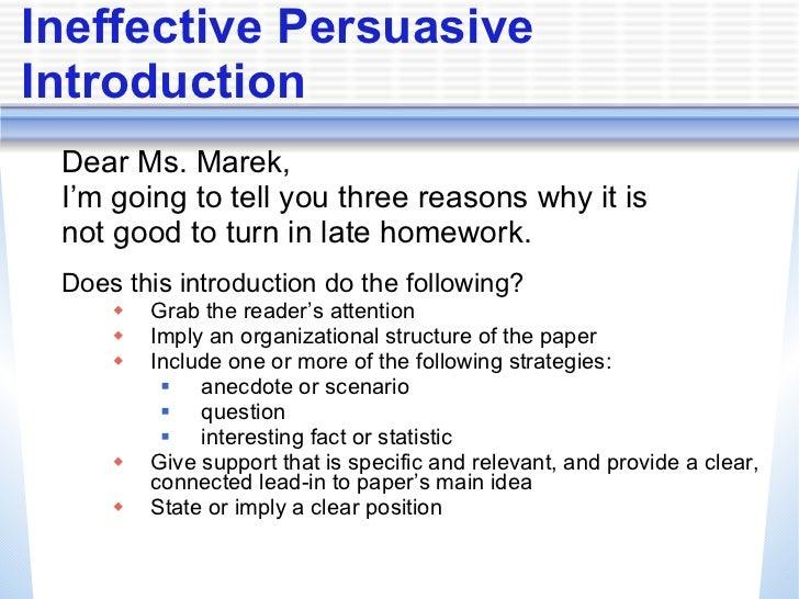 Persuasive essay staar powerpoint