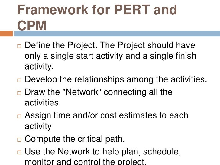 pert and cpm View pert and cpm research papers on academiaedu for free.
