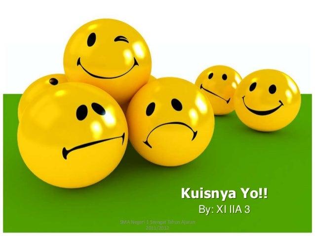 By: XI IIA 3Kuisnya Yo!!SMA Negeri 1 Srengat Tahun Ajaran2011/2012