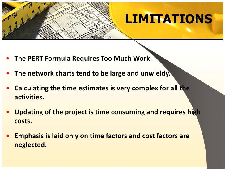 importance of pert and cpm in project management