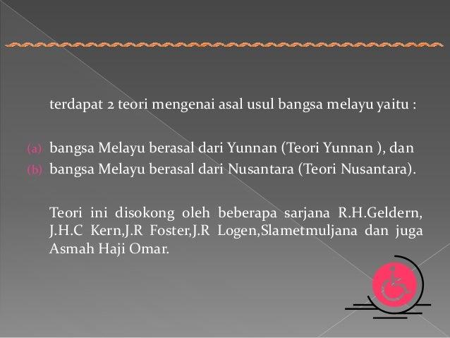 Asal Usul Bangsa Melayu