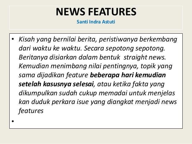 Produksi Acara Berita Radio Straight Indepth News Materi News F
