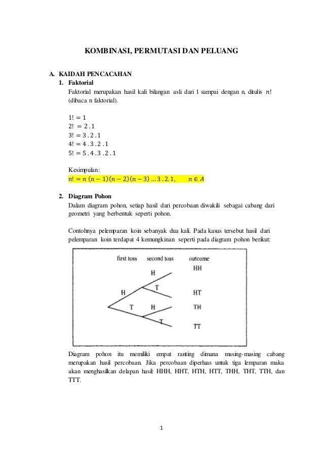 Makalah kombinasi permutasi dan peluang 10 3 ccuart Choice Image