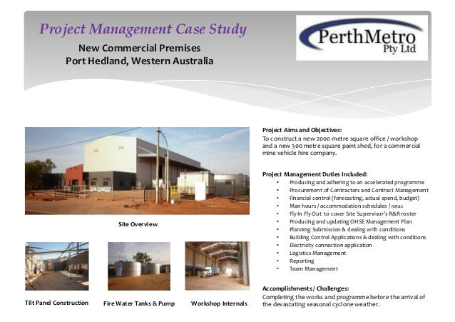 Project Aims and Objectives: To construct a new 2000 metre square office / workshop and a new 300 metre square paint shed,...