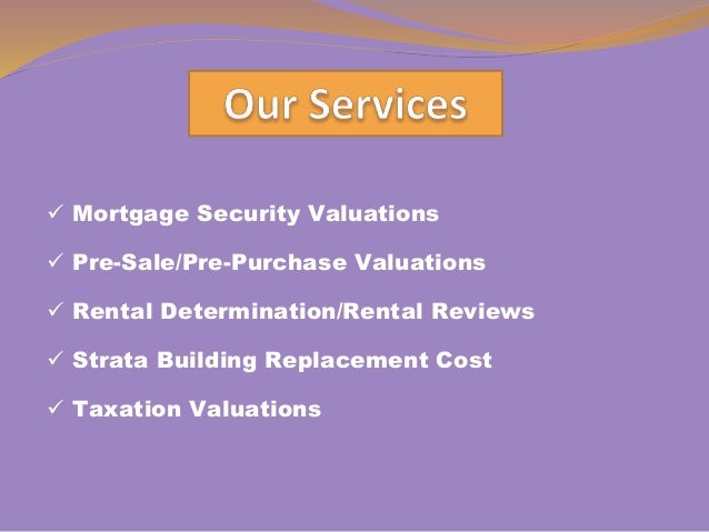 Accurate Perth Property Valuers for property valuers Slide 2
