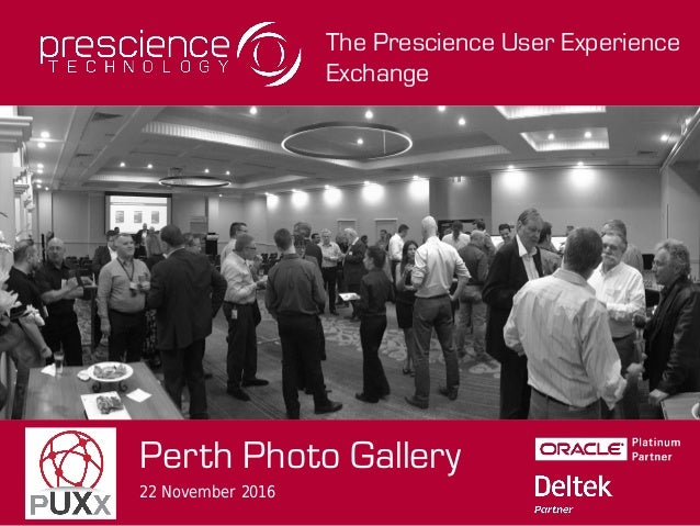The Prescience User Experience Exchange Perth Photo Gallery 22 November 2016