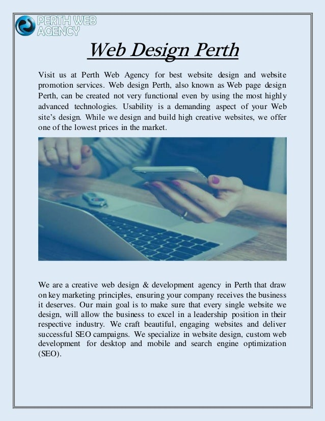 Web Design Perth - Perthwebagency