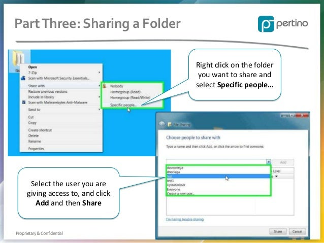 how to create a shared folder from within esxi 6.7