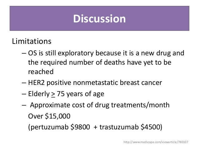 Pertuzumab For Her2 Positive Metastatic Breast Cancer