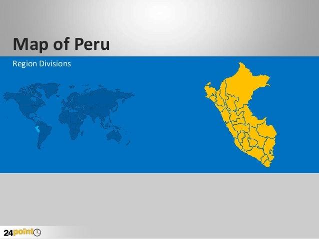Map of Peru Region Divisions