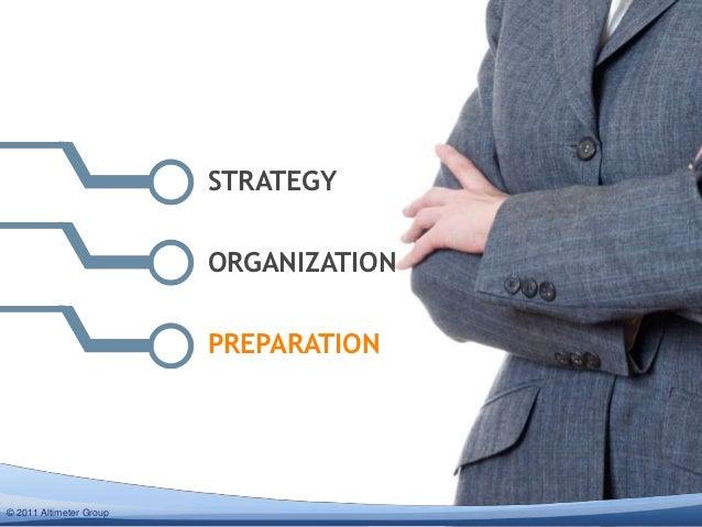 STRATEGY                         ORGANIZATION                         PREPARATION© 2012 Altimeter Group  2011