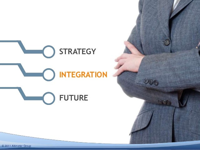 STRATEGY                         INTEGRATION                         FUTURE© 2012 Altimeter Group  2011