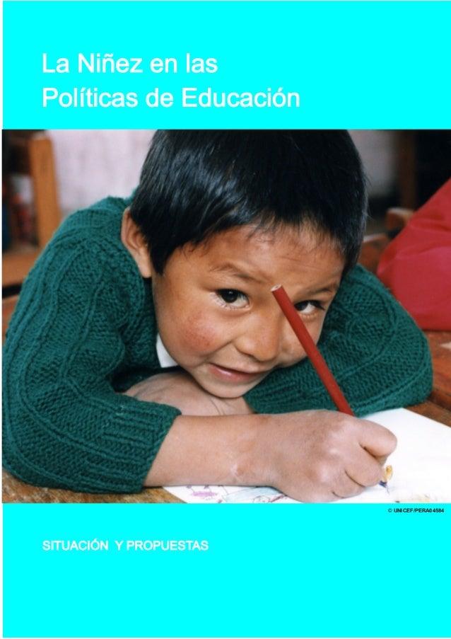 Peru politicas educacion