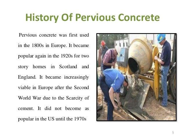 Pervious Concrete Mix Designs : Pervious concrete