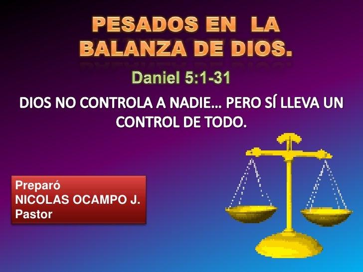 Preparó NICOLAS OCAMPO J. Pastor