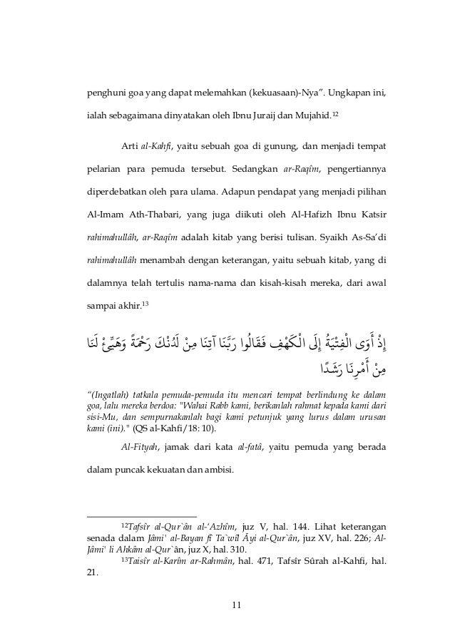 Pesan Moral Dari Kisah Ashhabul Kahfipdf Muhsin Hariyanto
