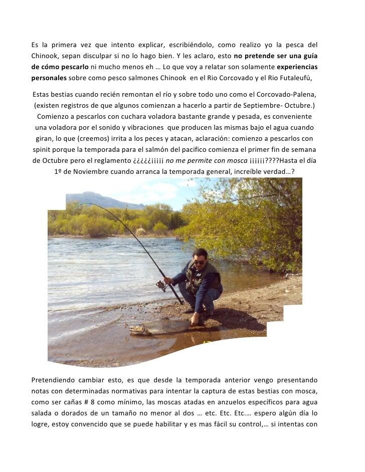 Pesca de chinook
