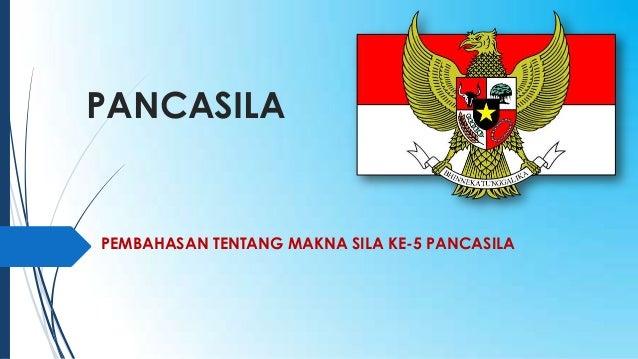 Pesentasi Pancasila Sila Ke 5
